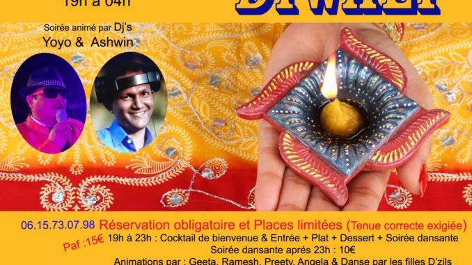 Diwali Soirée Party Soirée Mauricienne Paris