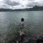 Pecheur ile maurice mauritius montagne lyon